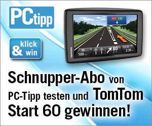 Gratis PC-Tipp testen und ein Navigationsgerät gewinnen!