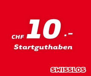 Erhalte gratis Swisslos Spielguthaben
