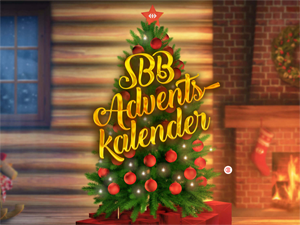 SBB Adventskalender Wettbewerb Schweiz